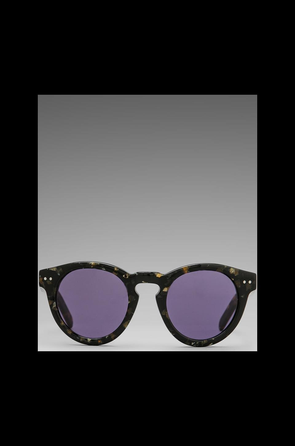 House of Harlow 1960 House of Harlow Carmen Sunglasses in Black/Gold