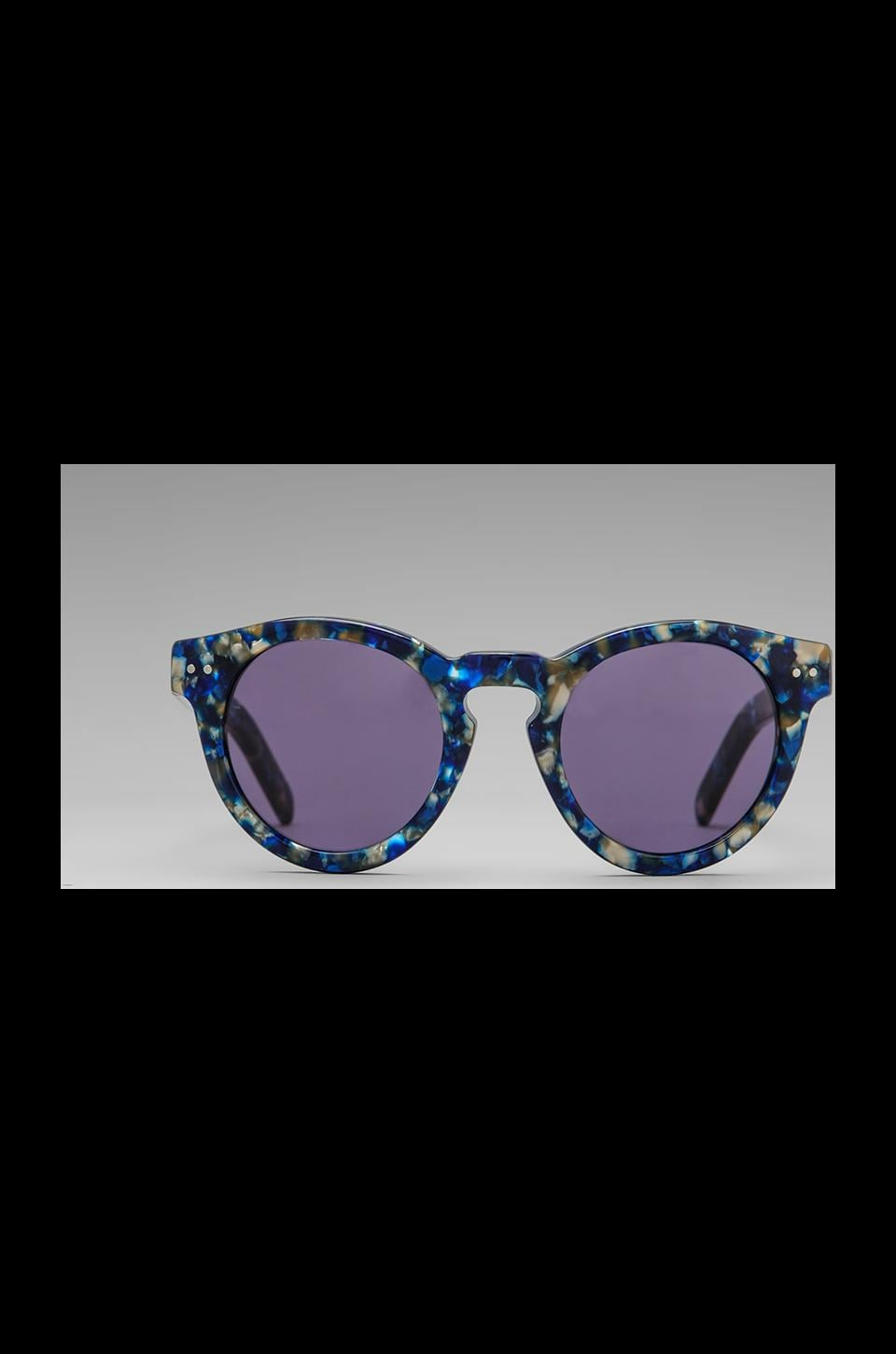 House of Harlow 1960 House of Harlow Carmen Sunglasses in Sapphire