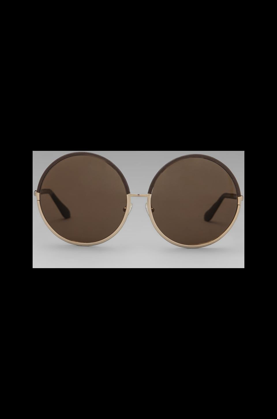 House of Harlow Imagine Sunglasses in Brown