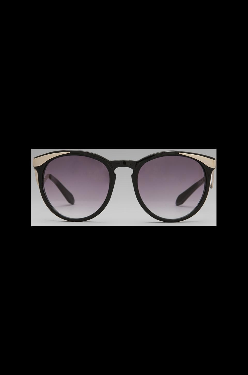 House of Harlow 1960 House of Harlow Mia Sunglasses in Black