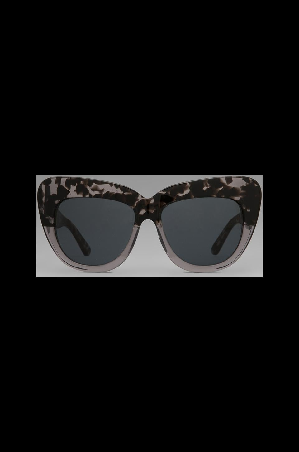 House of Harlow 1960 House of Harlow Chelsea Sunglasses in Grey Tortoise