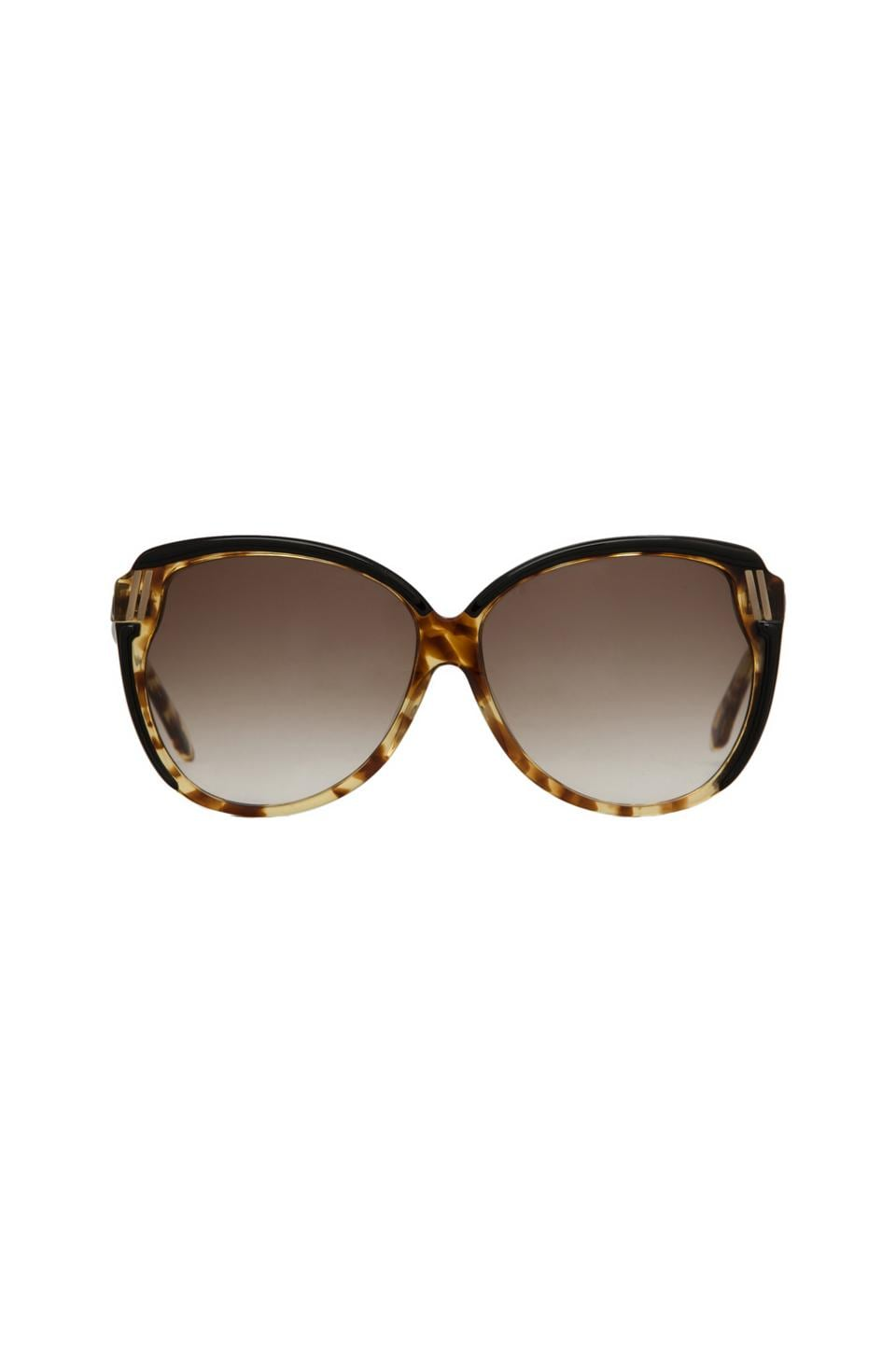 House of Harlow 1960 House of Harlow Ella Sunglasses in Tortoise/Black