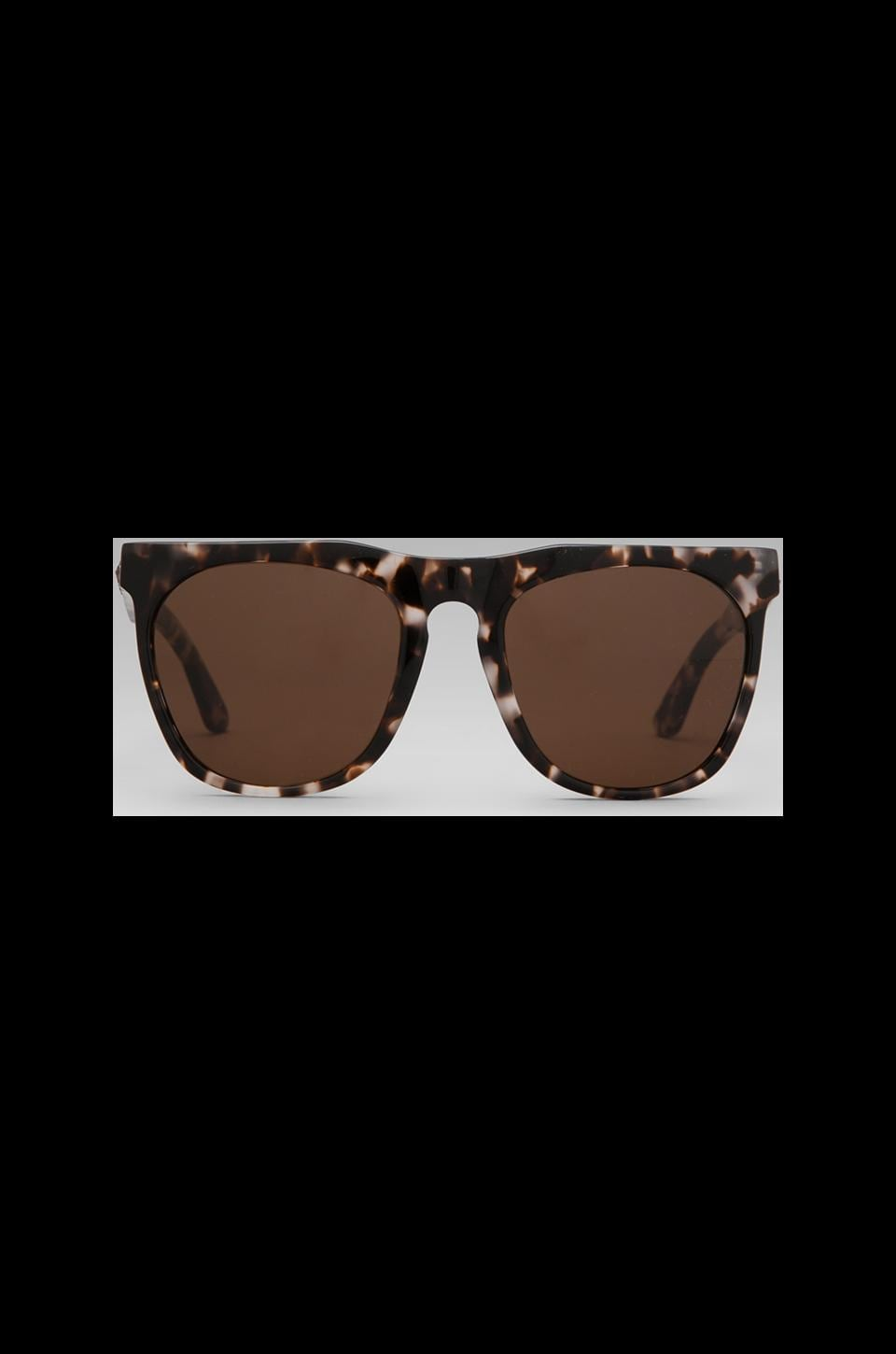 House of Harlow 1960 House of Harlow Blondie Sunglasses in Clear Tortoise