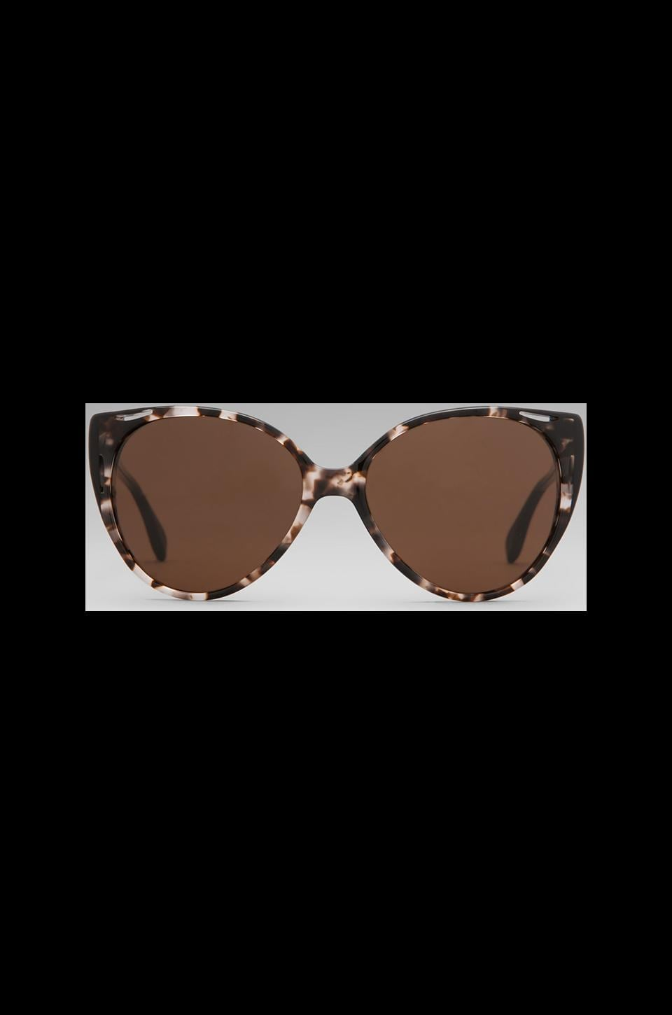 House of Harlow Tyler Sunglasses in Clear Tortoise