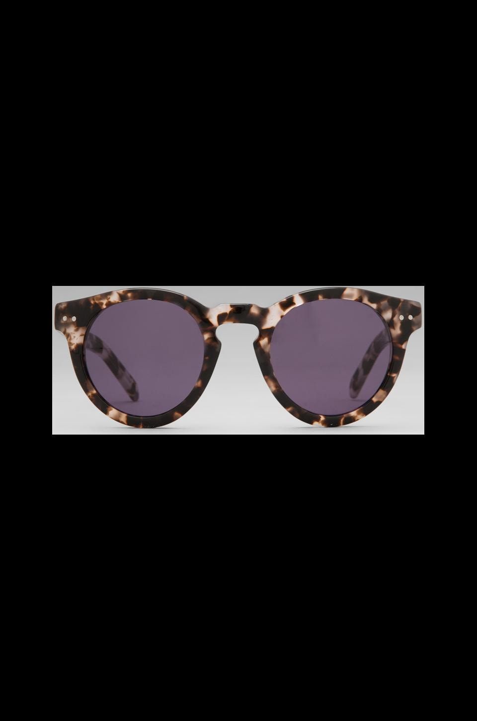 House of Harlow 1960 House of Harlow Carmen Sunglasses in Clear Tortoise