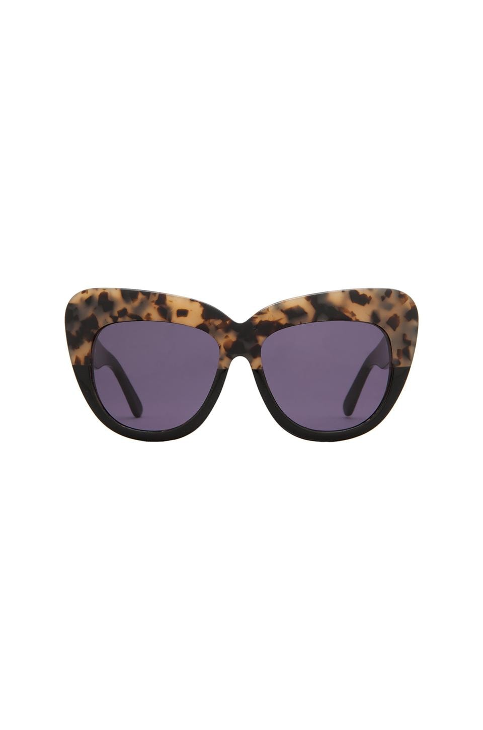 House of Harlow Chelsea Sunglasses in Black Oreo