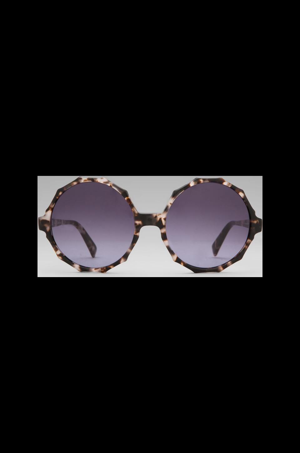 House of Harlow 1960 House of Harlow Penny Sunglasses in Clear Tortoise
