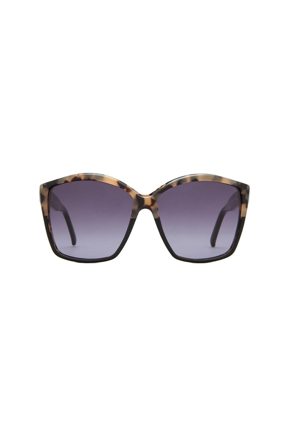 House of Harlow 1960 House of Harlow Jordana Sunglasses in Black Oreo