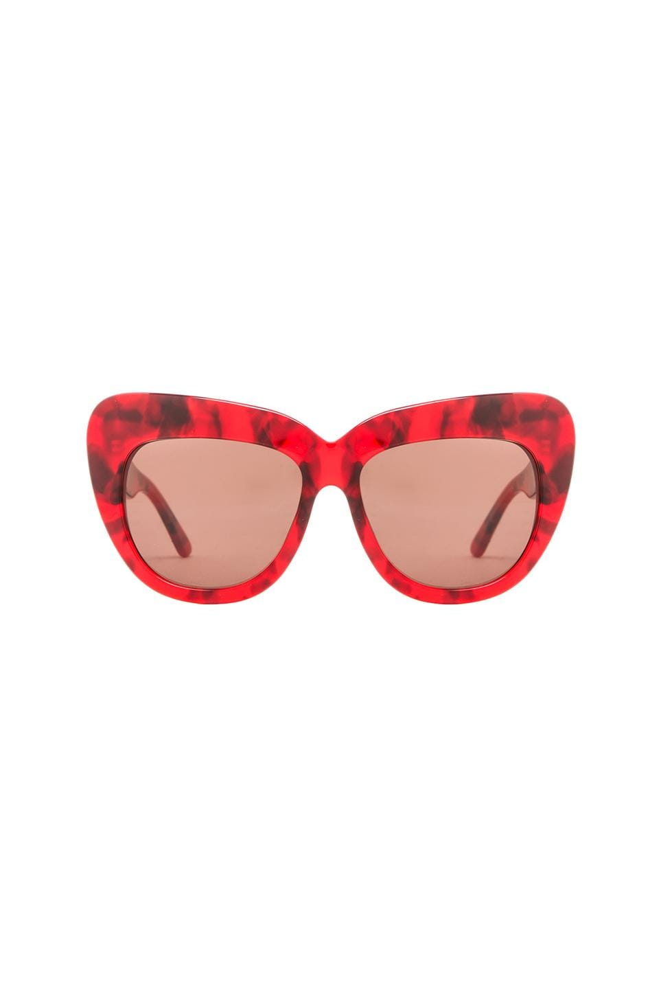 House of Harlow 1960 House of Harlow Chelsea Sunglasses in Blood
