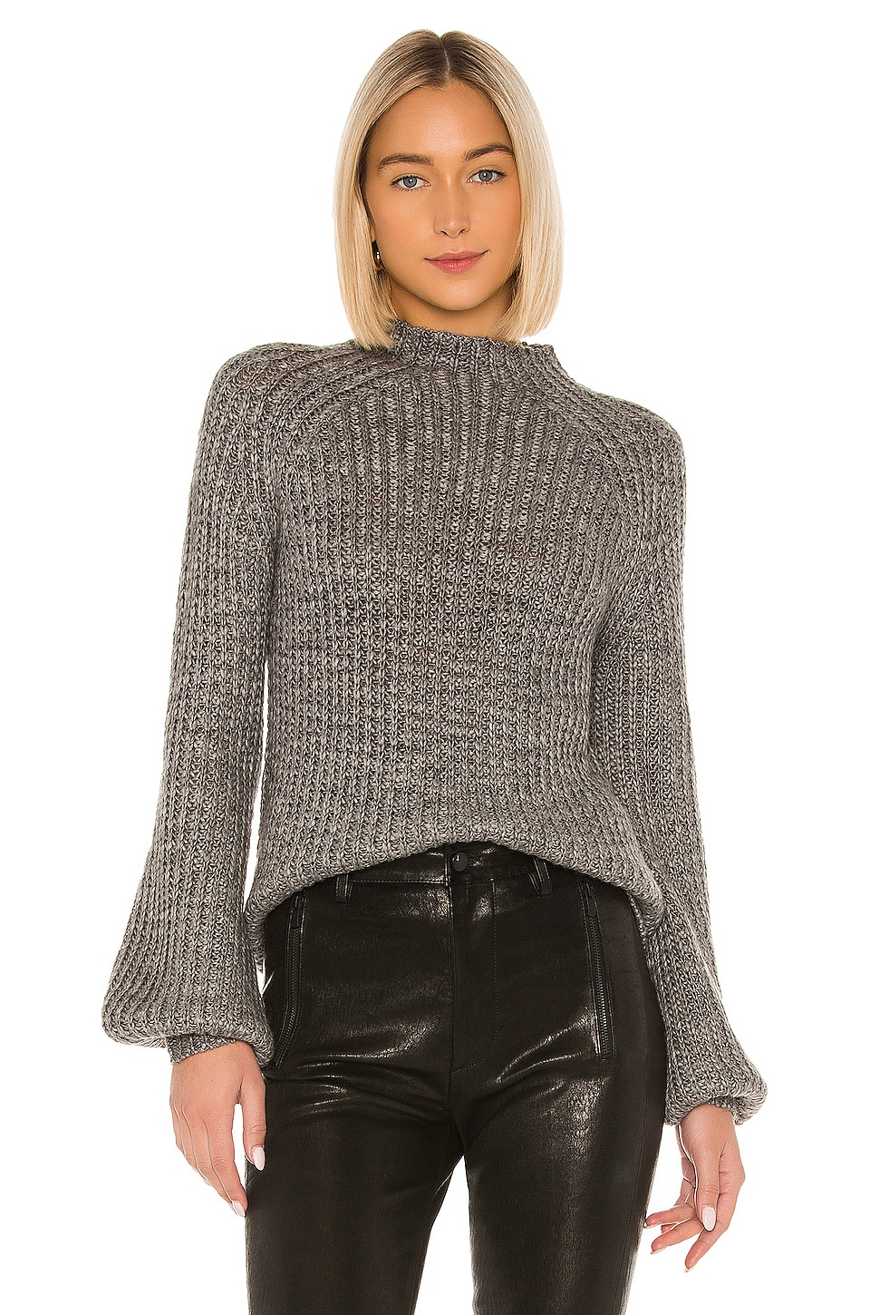 House of Harlow 1960 x REVOLVE Dillin Sweater in Grey