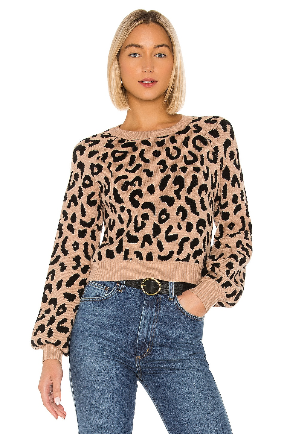 House of Harlow 1960 x REVOLVE Callum Sweater in Leopard
