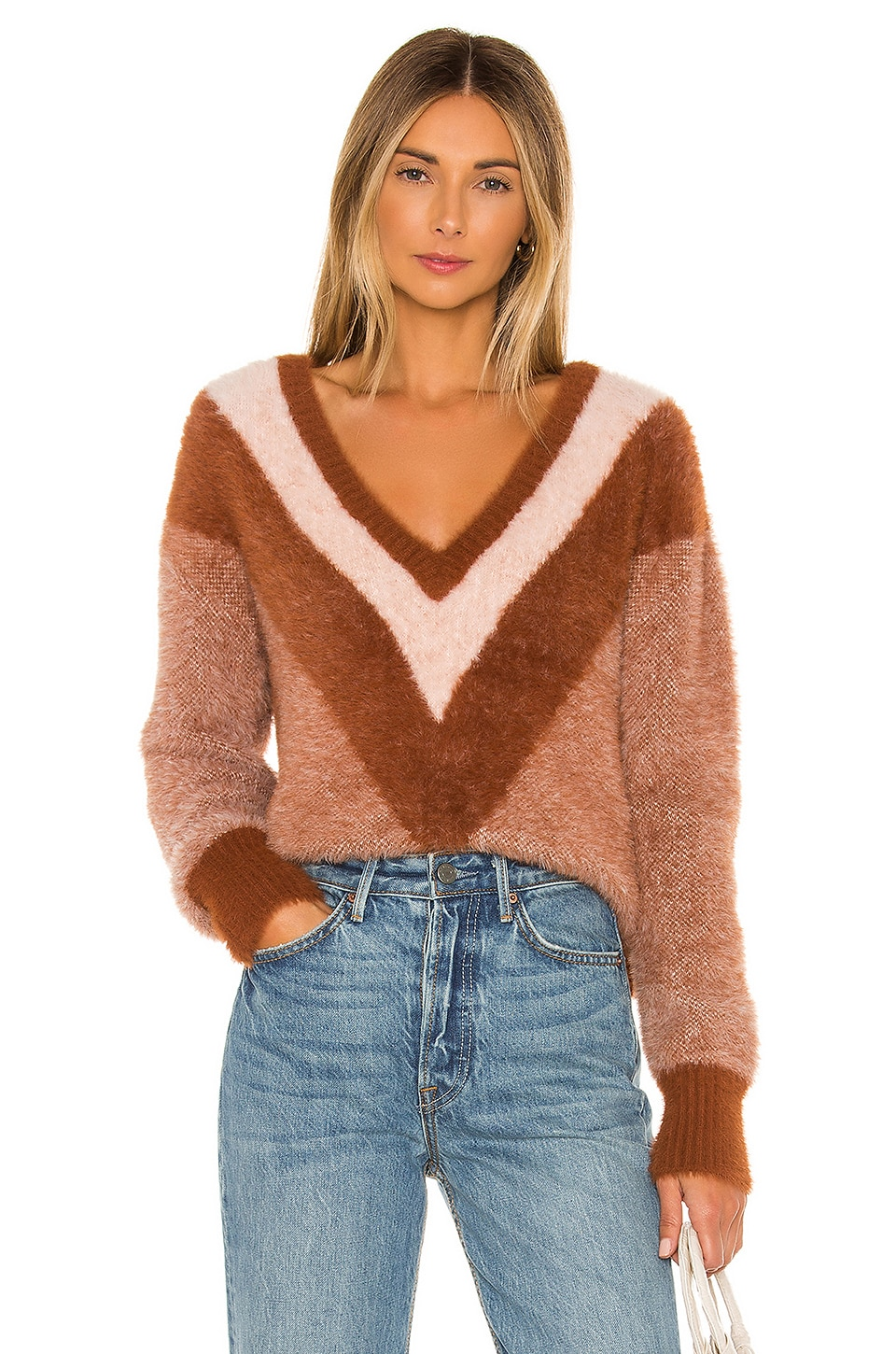 House of Harlow 1960 x REVOLVE Robbie Sweater in Sand