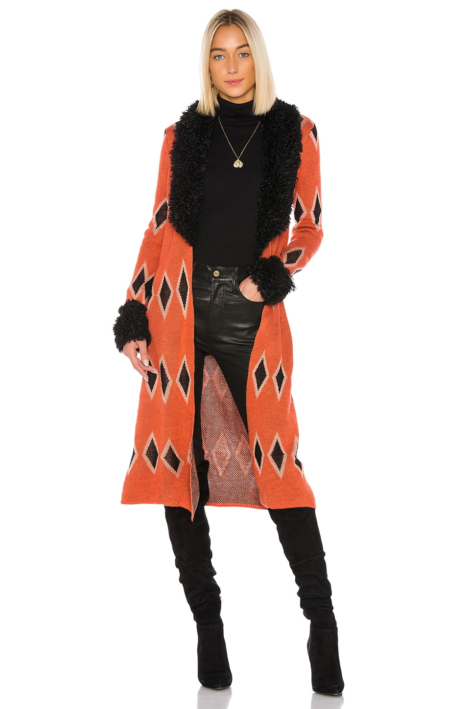 House of Harlow 1960 MANTEAU CULLEN