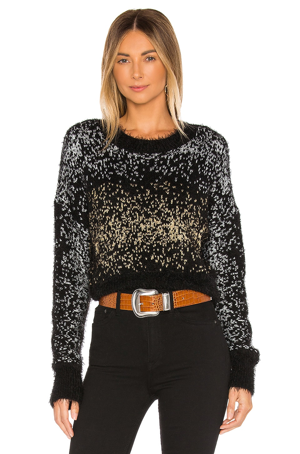House of Harlow 1960 x REVOLVE Super Moon Sweater in Moon Shimmer