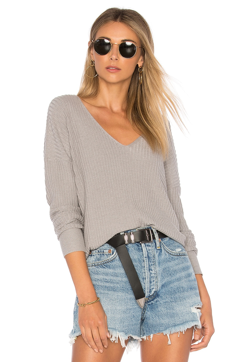 House of Harlow 1960 x REVOLVE Miles Pullover in Dust