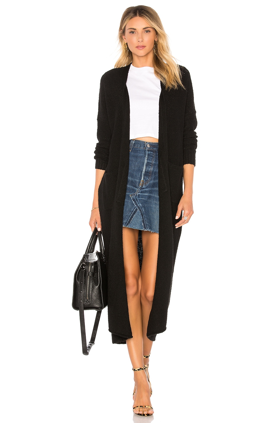 House of Harlow 1960 x REVOLVE Nico Duster in Coal