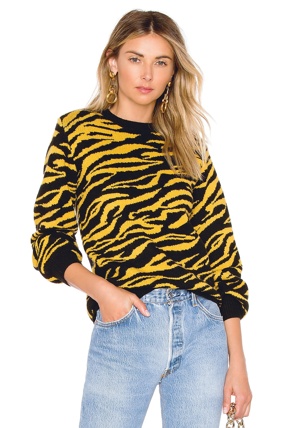 HOUSE OF HARLOW 1960 X REVOLVE TIGER SWEATER