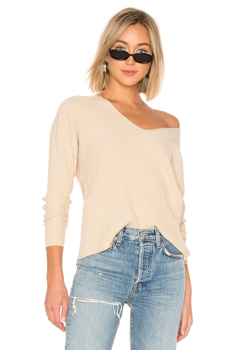 House of Harlow 1960 x REVOLVE Miles Pullover in Nude