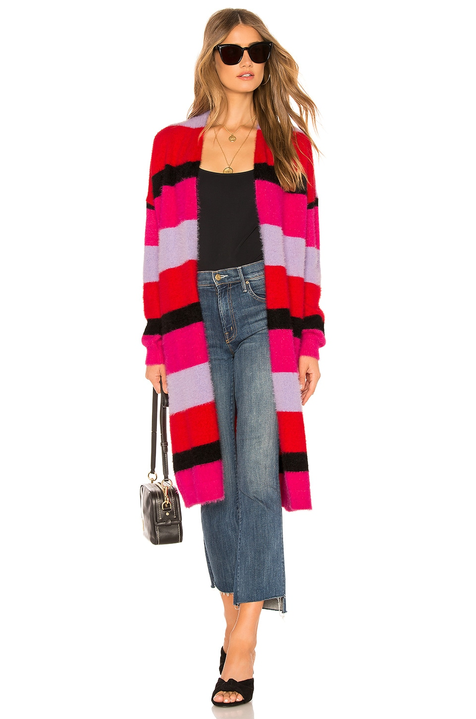 House of Harlow 1960 x REVOLVE Koons Duster in Red & Purples