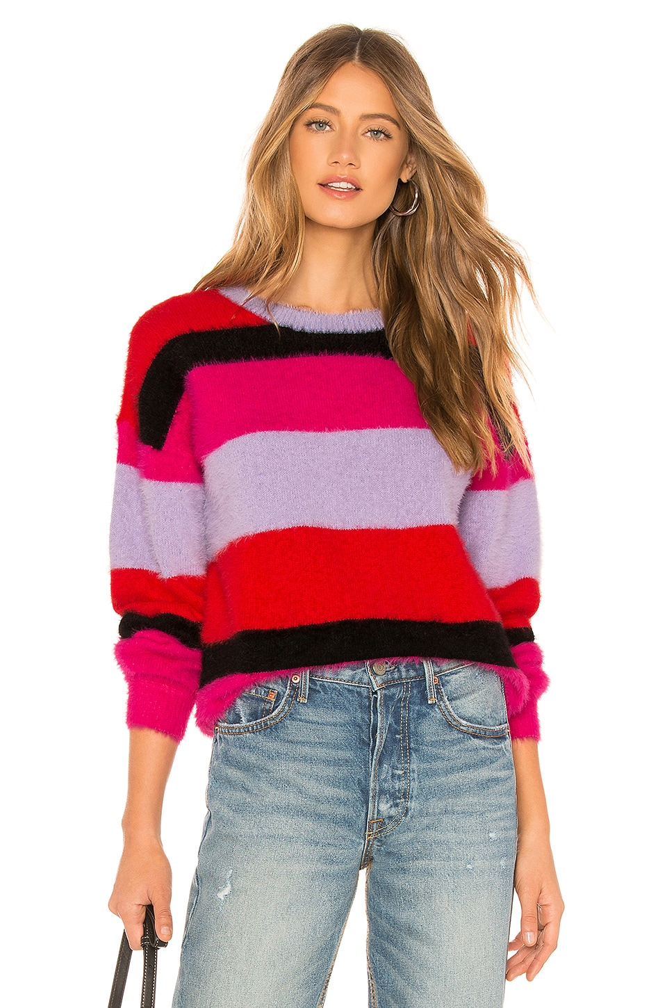 House of Harlow 1960 x REVOLVE Koons Sweater in Red & Purples