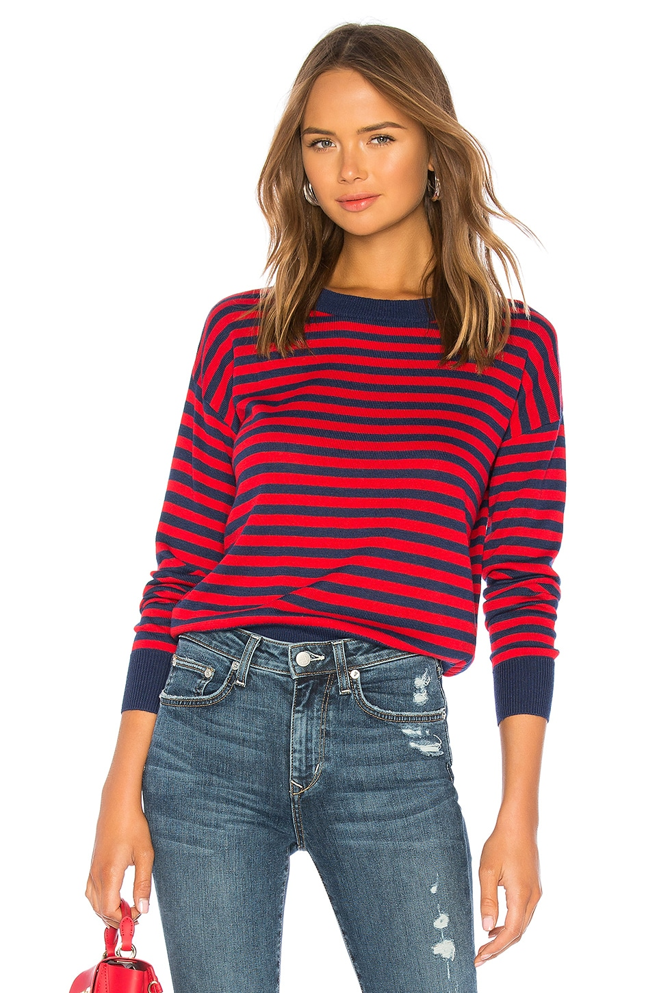 House of Harlow 1960 x REVOLVE Britt Sweater in Red Stripe