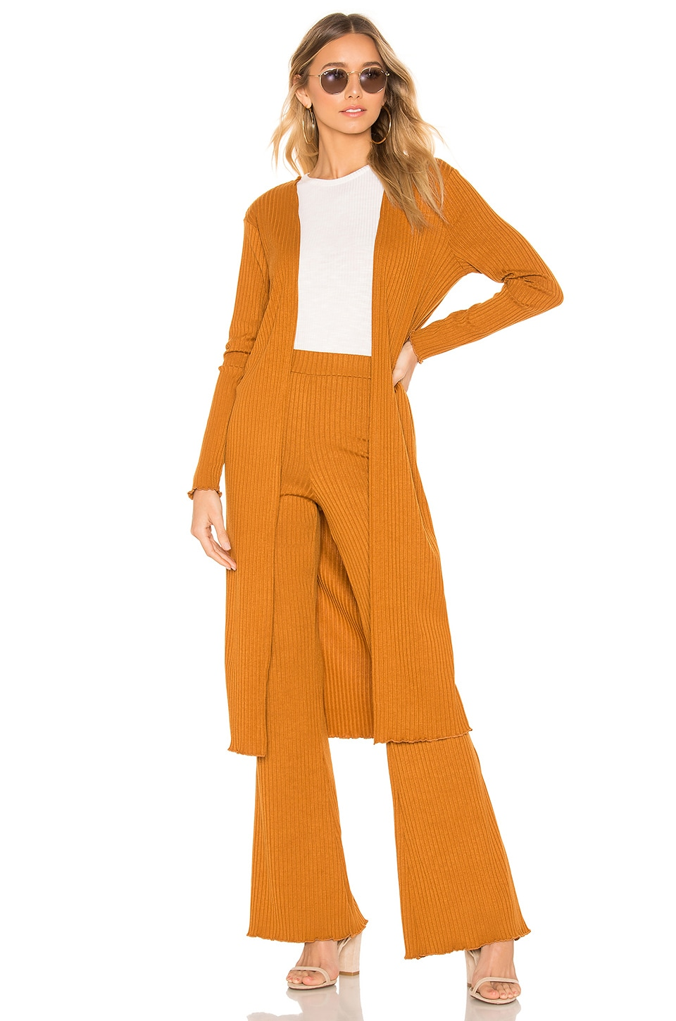 House of Harlow 1960 House of Harlow x Revolve 1960 James Cardigan in Toffee