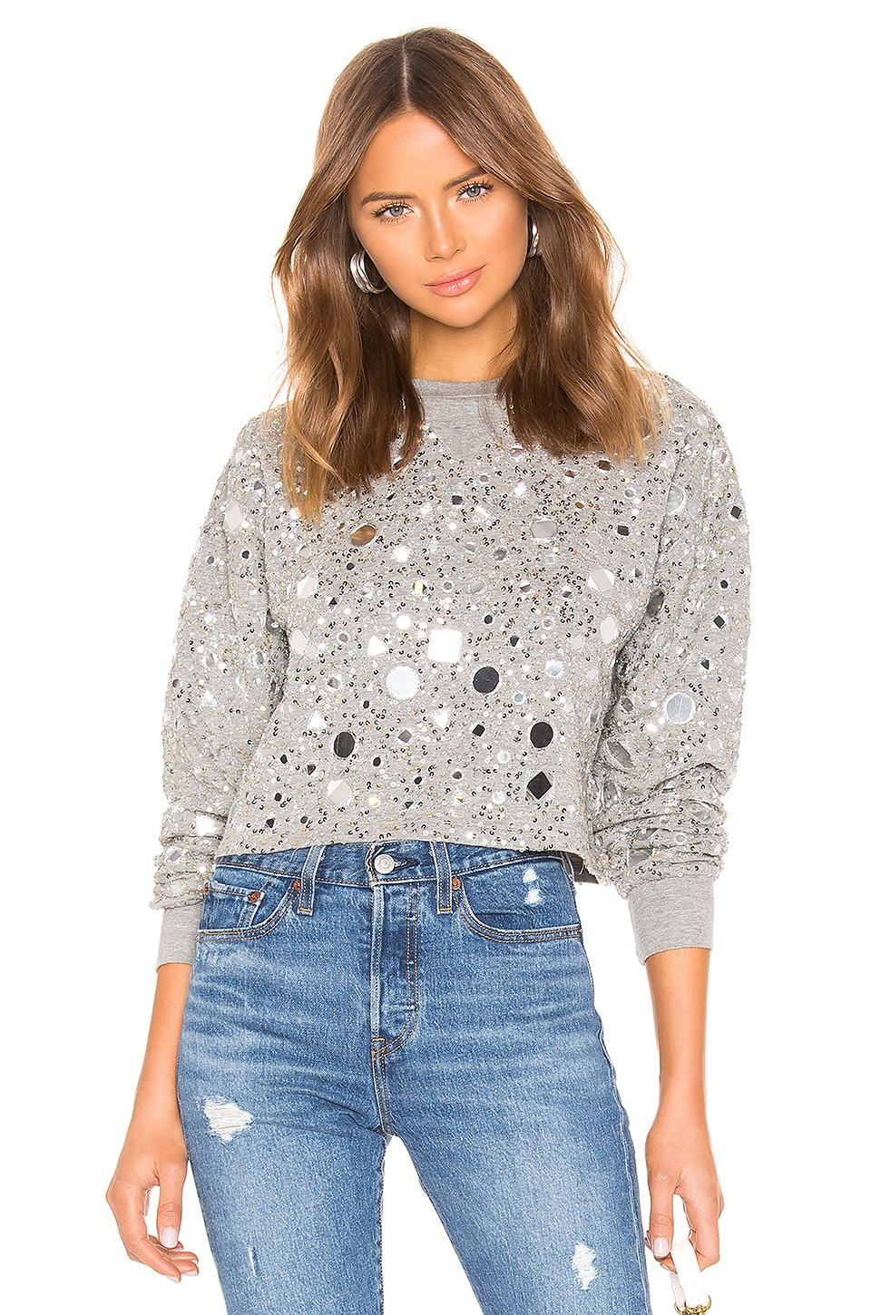 House of Harlow 1960 x REVOLVE Ale Pullover in Heather Grey