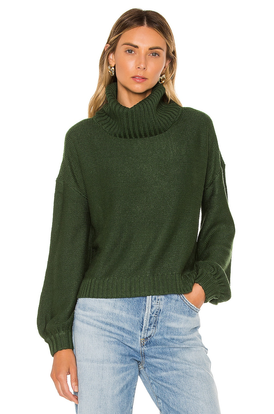 House of Harlow 1960 x REVOLVE Jaxson Sweater in Emerald