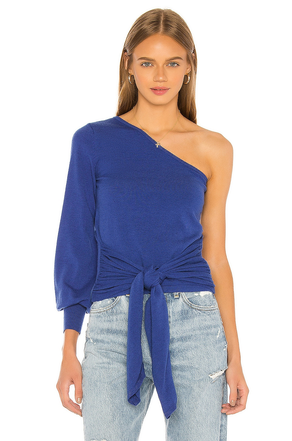House of Harlow 1960 X REVOLVE Reyna Sweater in Bright Blue