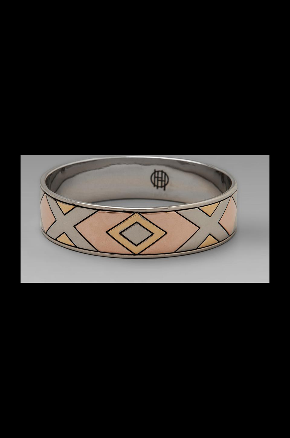 House of Harlow 1960 House of Harlow Sancai Bangle in Tri-tone