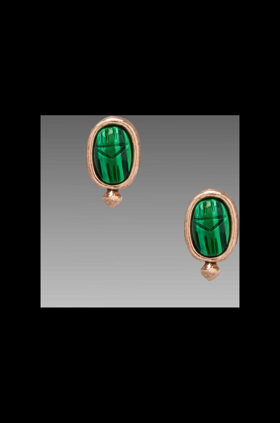House of Harlow 1960 House of Harlow Khepri Stud Earrings in Rosegold