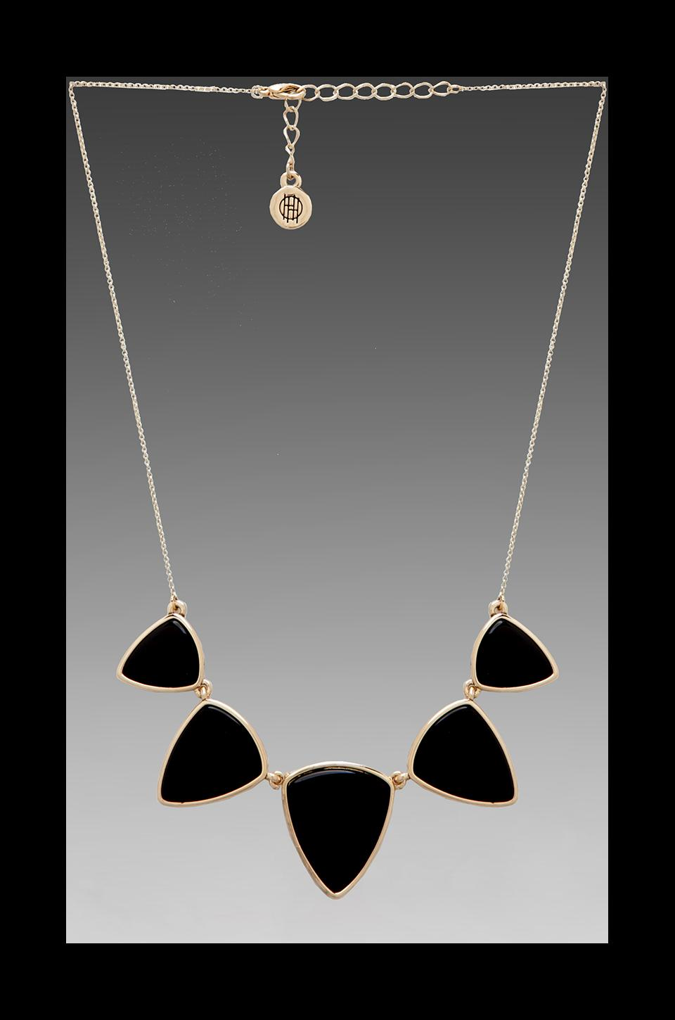 House of Harlow 1960 House of Harlow Polyphony Necklace in Gold