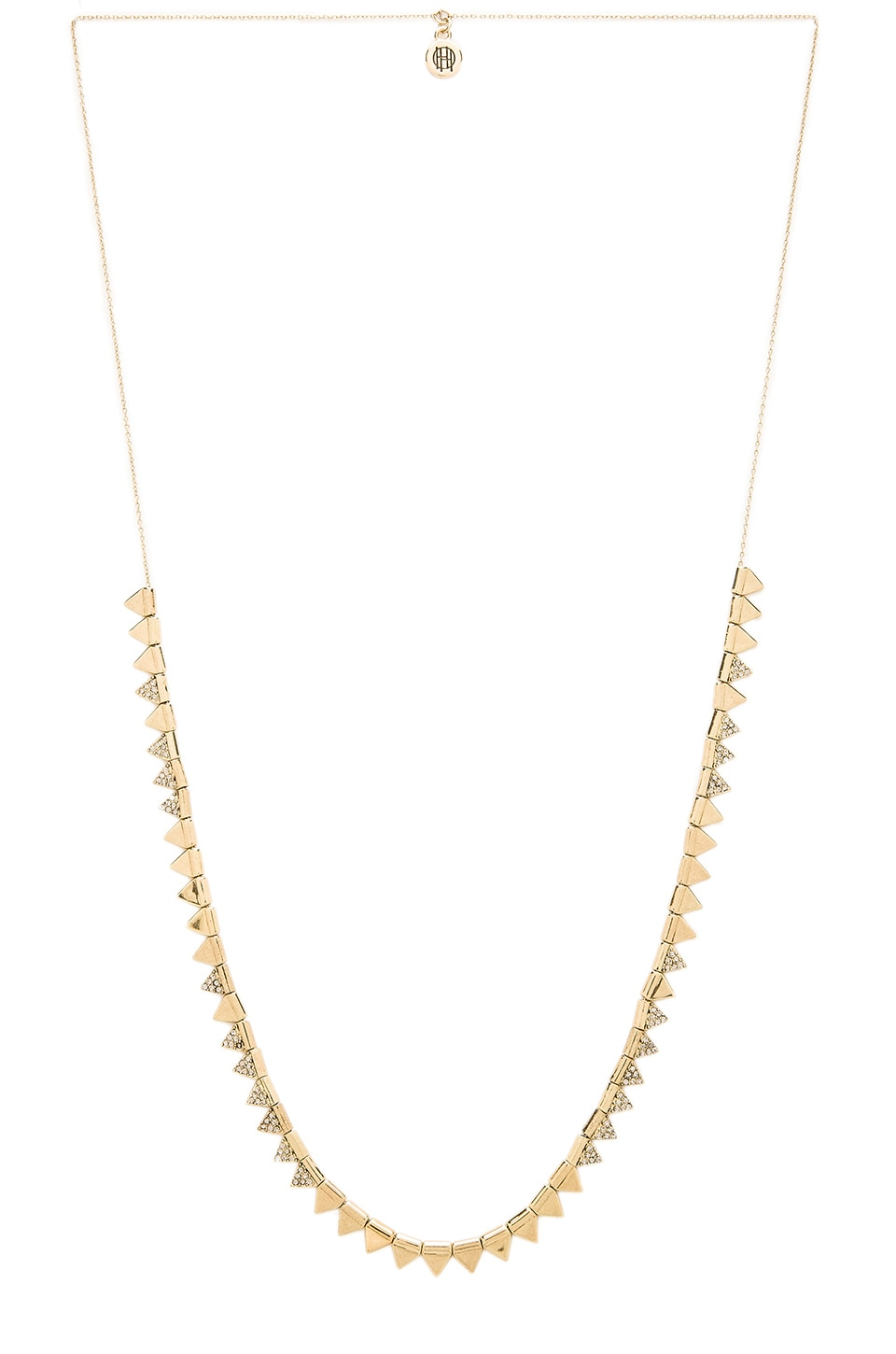 House of Harlow 1960 House of Harlow Frequency Necklace in Gold