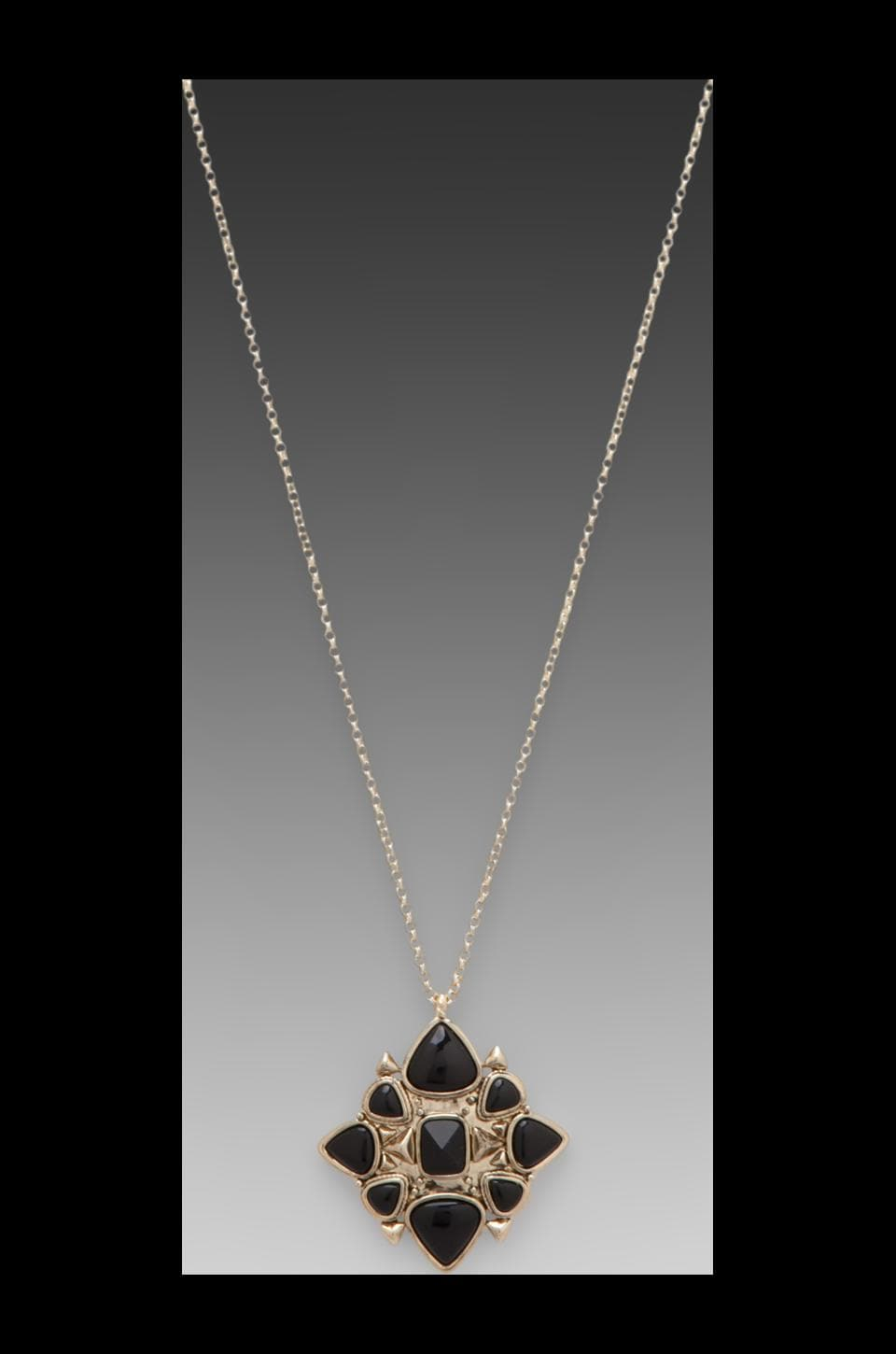 House of Harlow Kaleidoscope Pendant in Gold