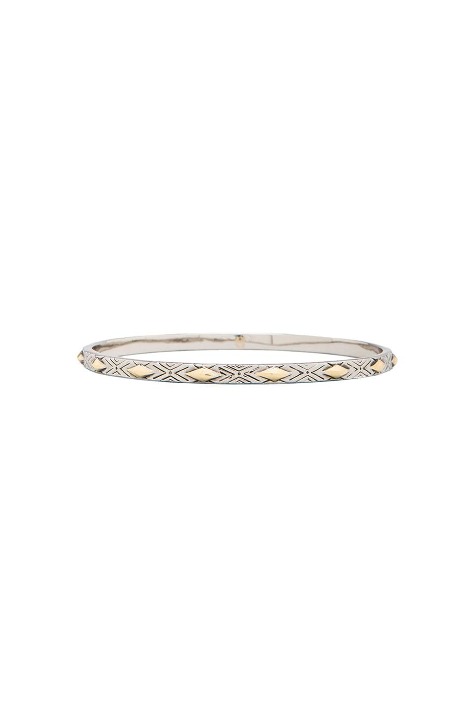 House of Harlow 1960 House of Harlow Marquis Stack Bangles in Silver