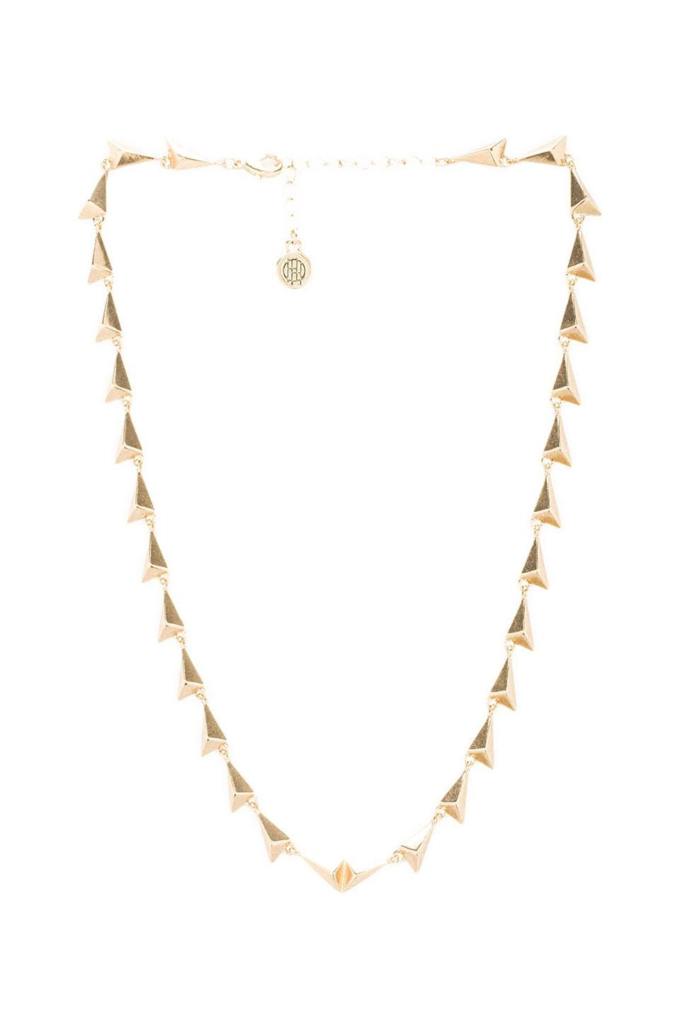 House of Harlow Dynamic Necklace in Gold