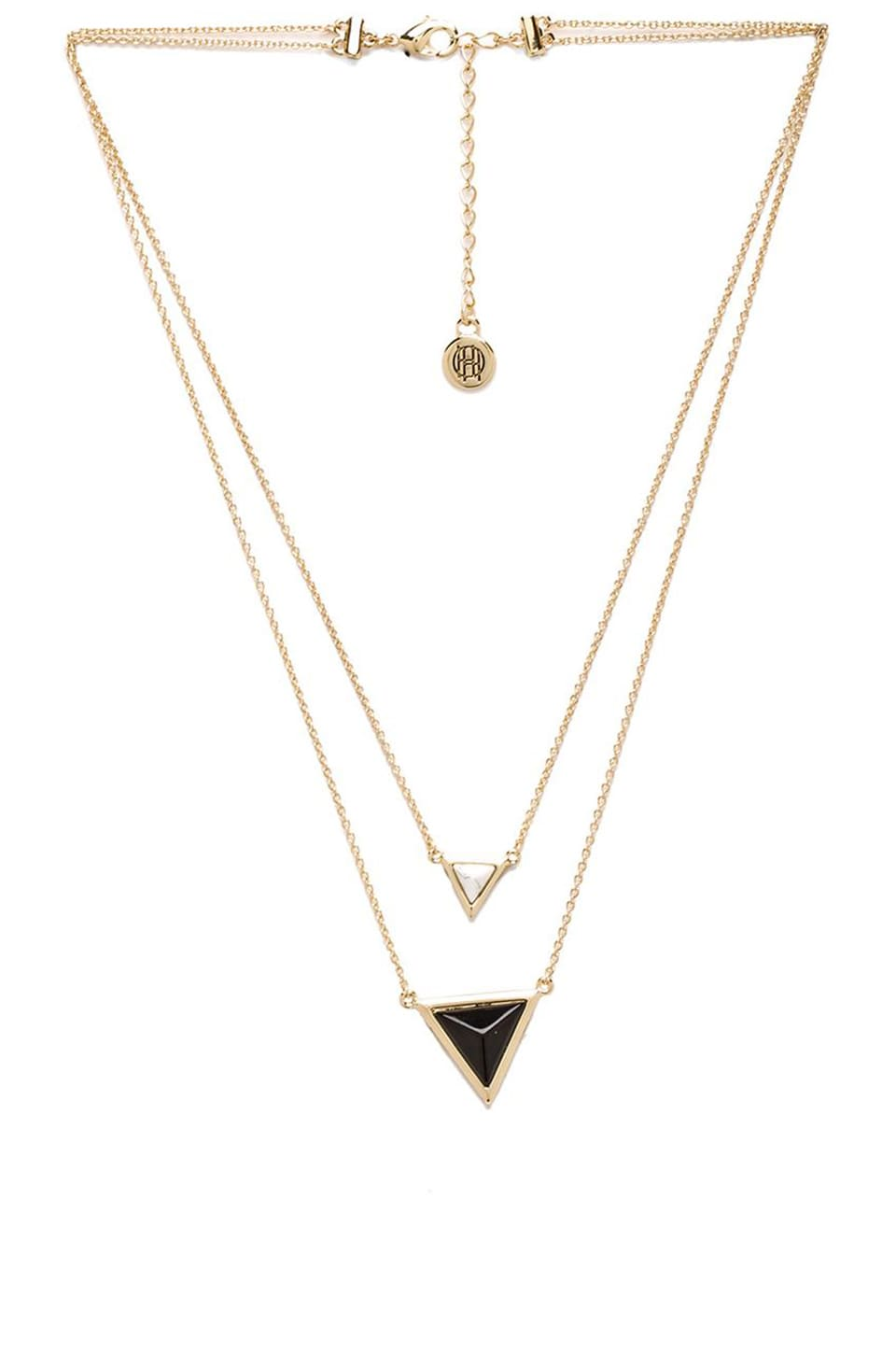 House of Harlow 1960 House of Harlow The Temple Necklace in