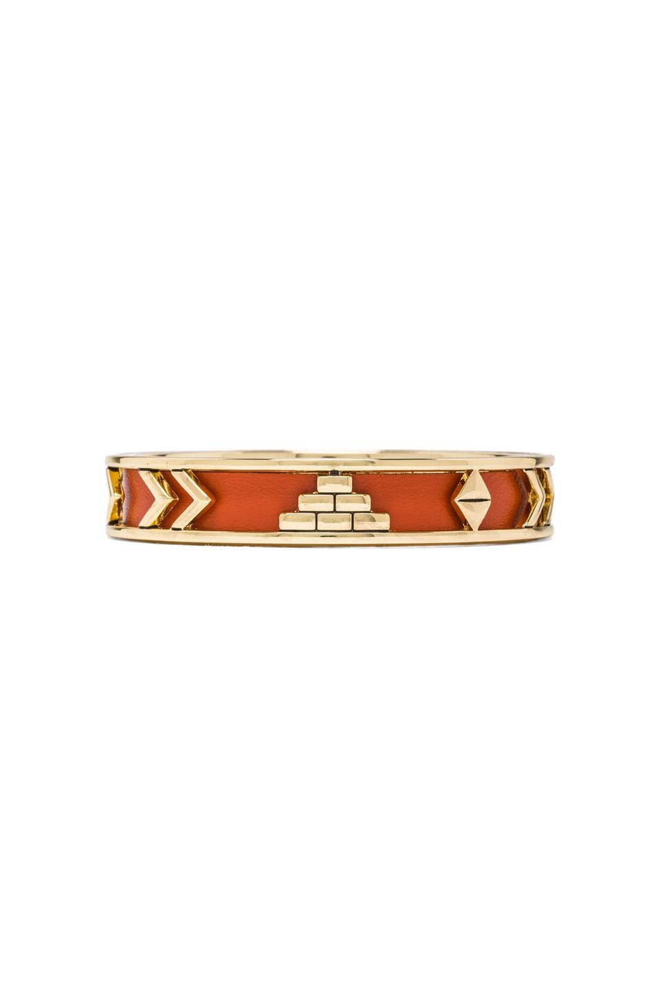 House of Harlow 1960 House of Harlow Aztec Bangle in Coral