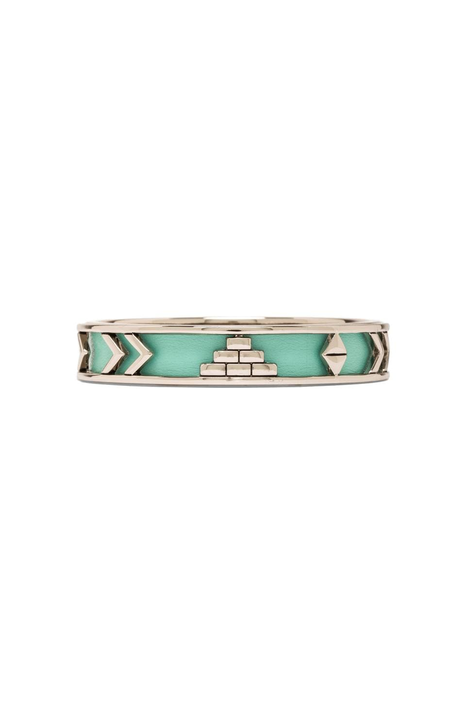House of Harlow 1960 House of Harlow Aztec Bangle in Robin's Egg