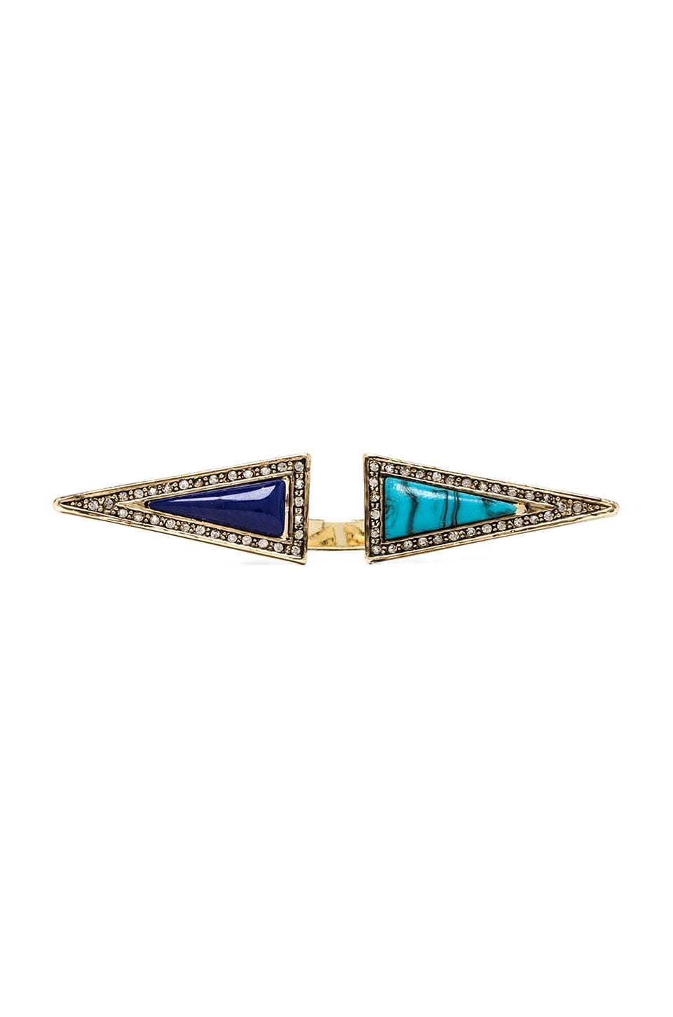 House of Harlow Isosceles Reflection Ring in Gold