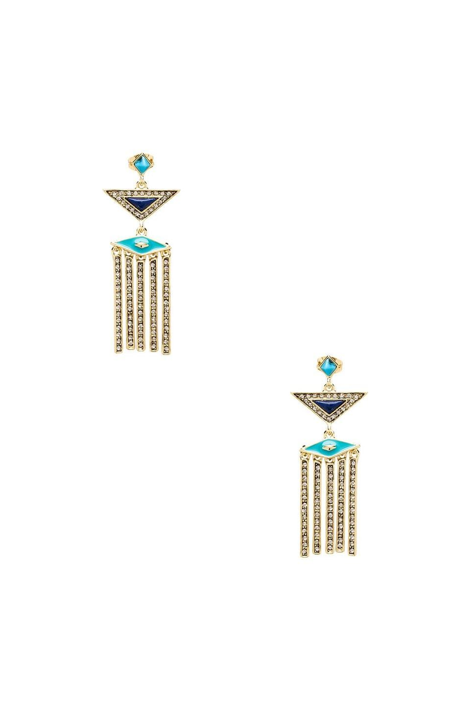 House of Harlow 1960 House of Harlow Aegean Treasure Earrings in Gold