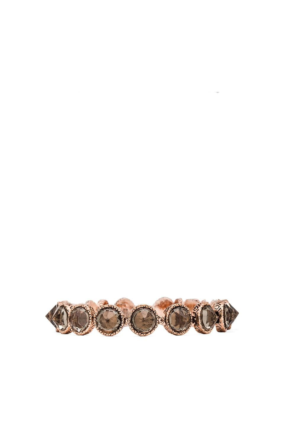 House of Harlow 1960 House of Harlow Scry Stone Tennis Bracelet in Rose Gold