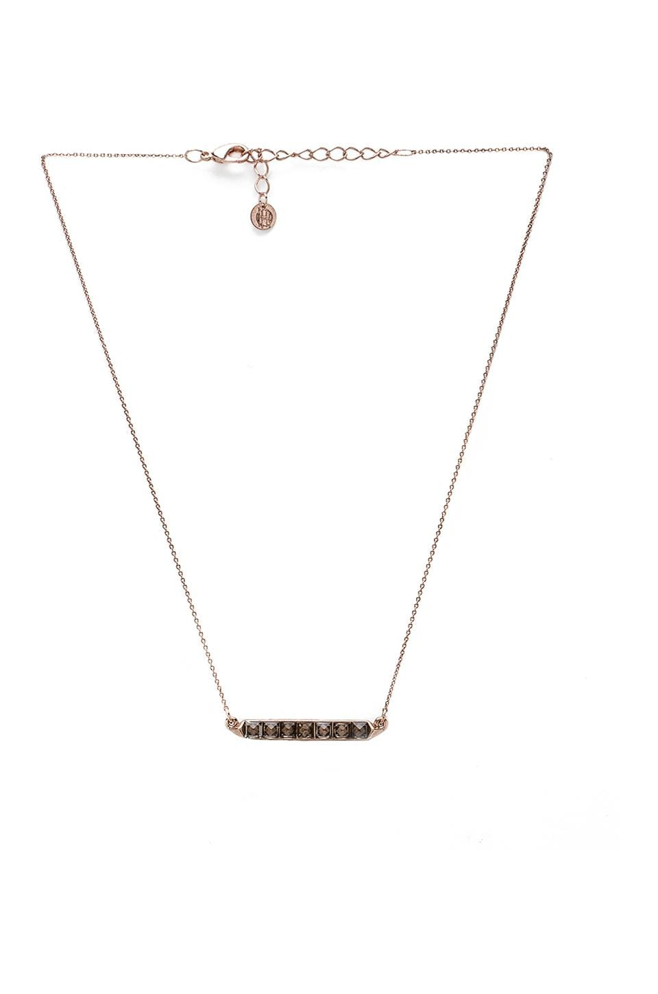 House of Harlow 1960 House of Harlow Seer's Necklace in Rose Gold