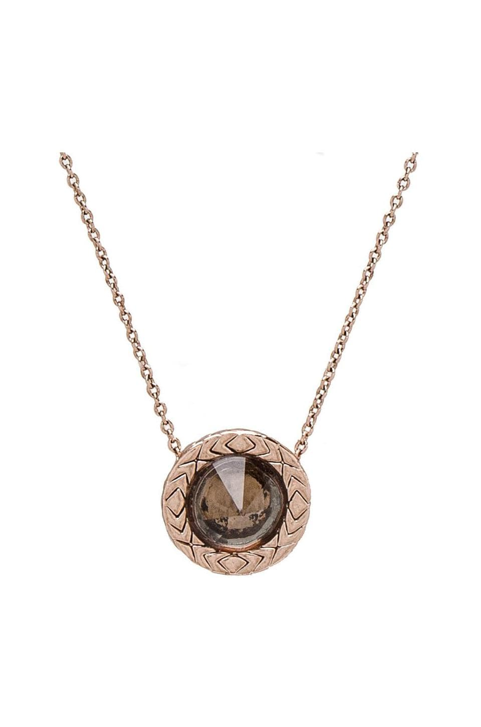 House of Harlow 1960 House of Harlow Olbers Paradox Pendant Necklace in Rose Gold