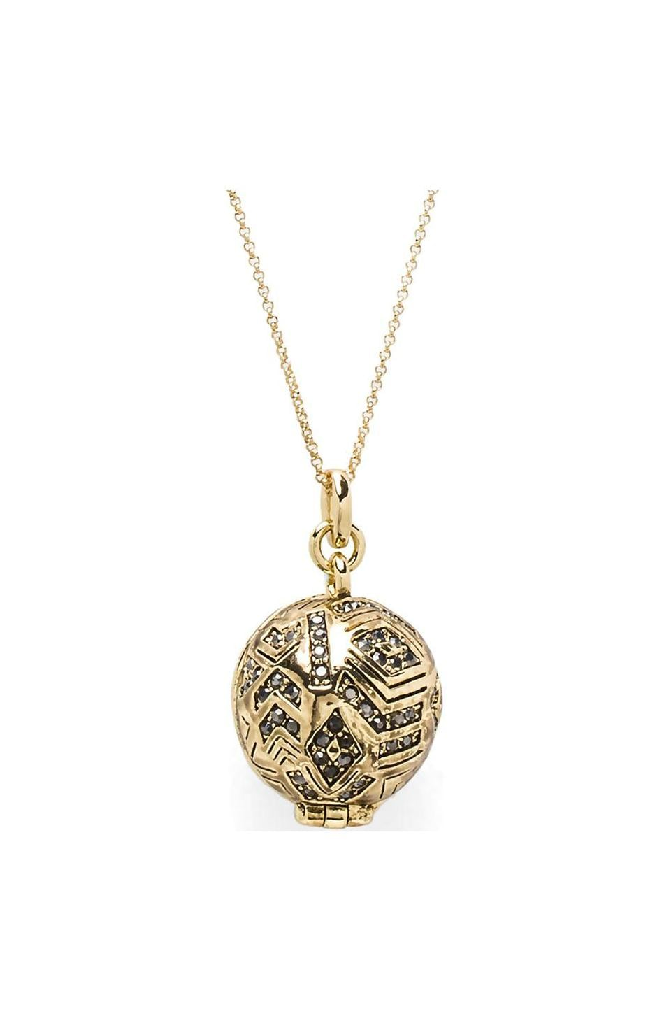 House of Harlow 1960 House of Harlow Treasure Trove Locket in Gold