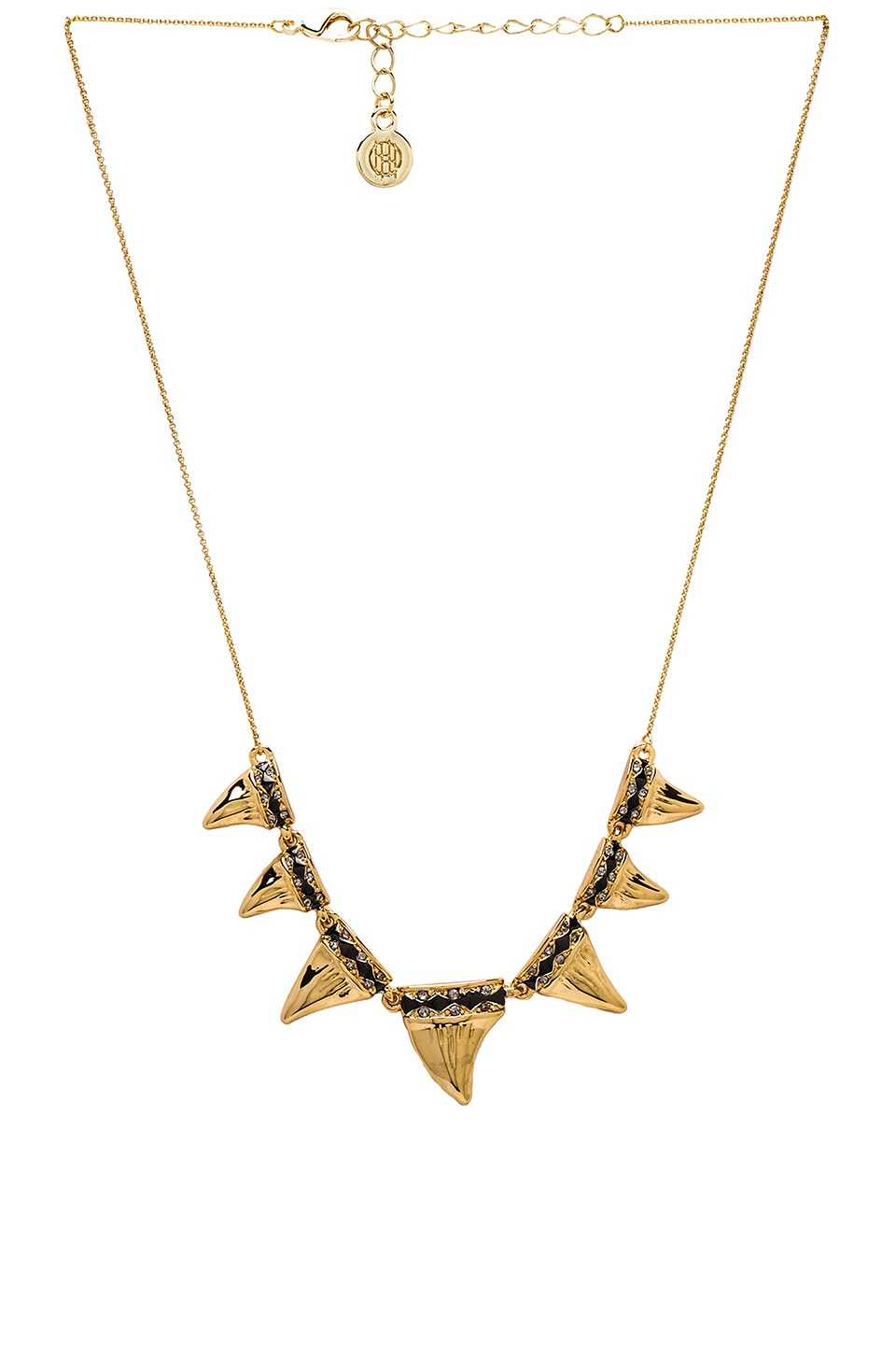 House of Harlow 1960 House of Harlow Diamondhead Necklace in Gold