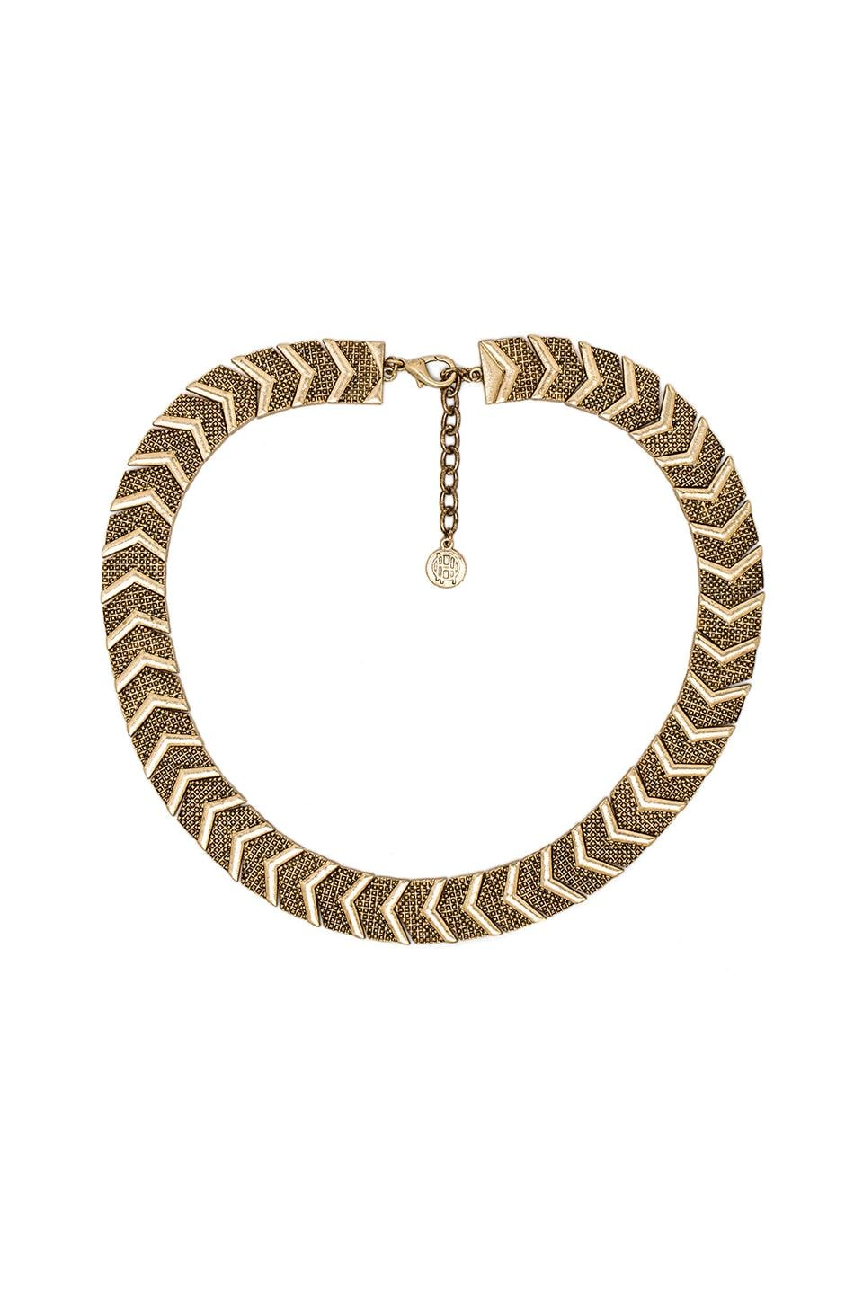 House of Harlow 1960 House of Harlow Sidewinding Collar Necklace in Gold