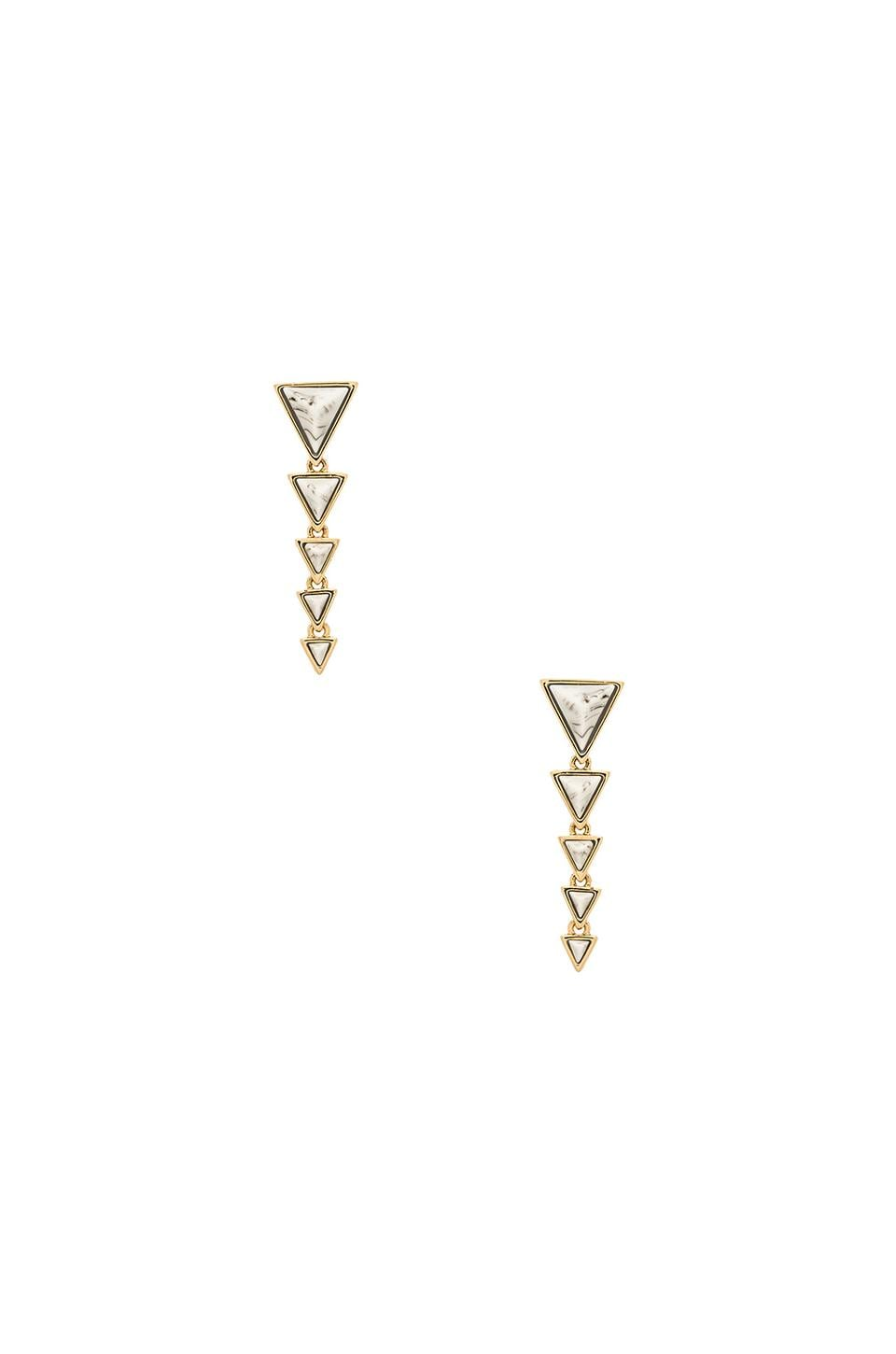 House of Harlow 1960 House of Harlow Meteora Drop Earring in Howlite