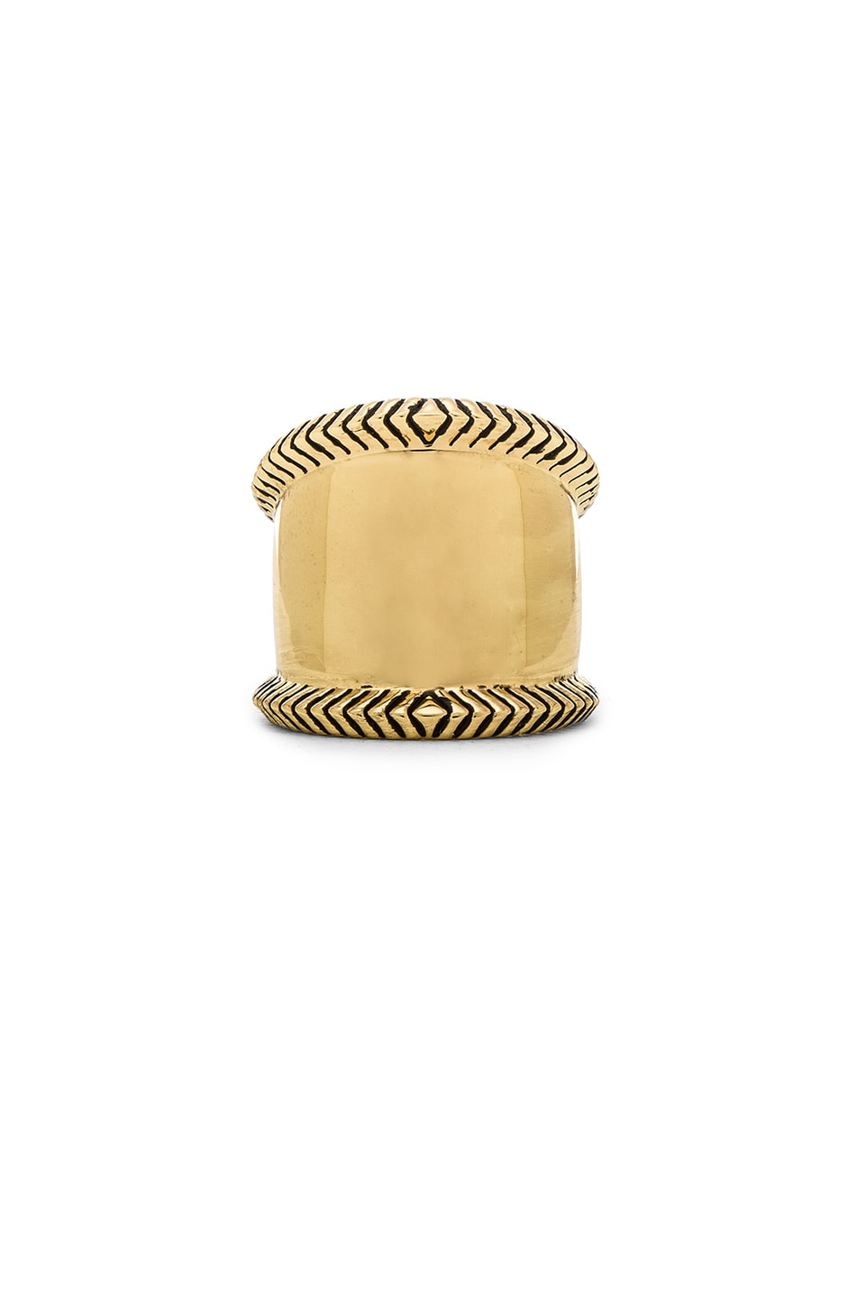 House of Harlow 1960 House of Harlow Tambo River Ring in Gold