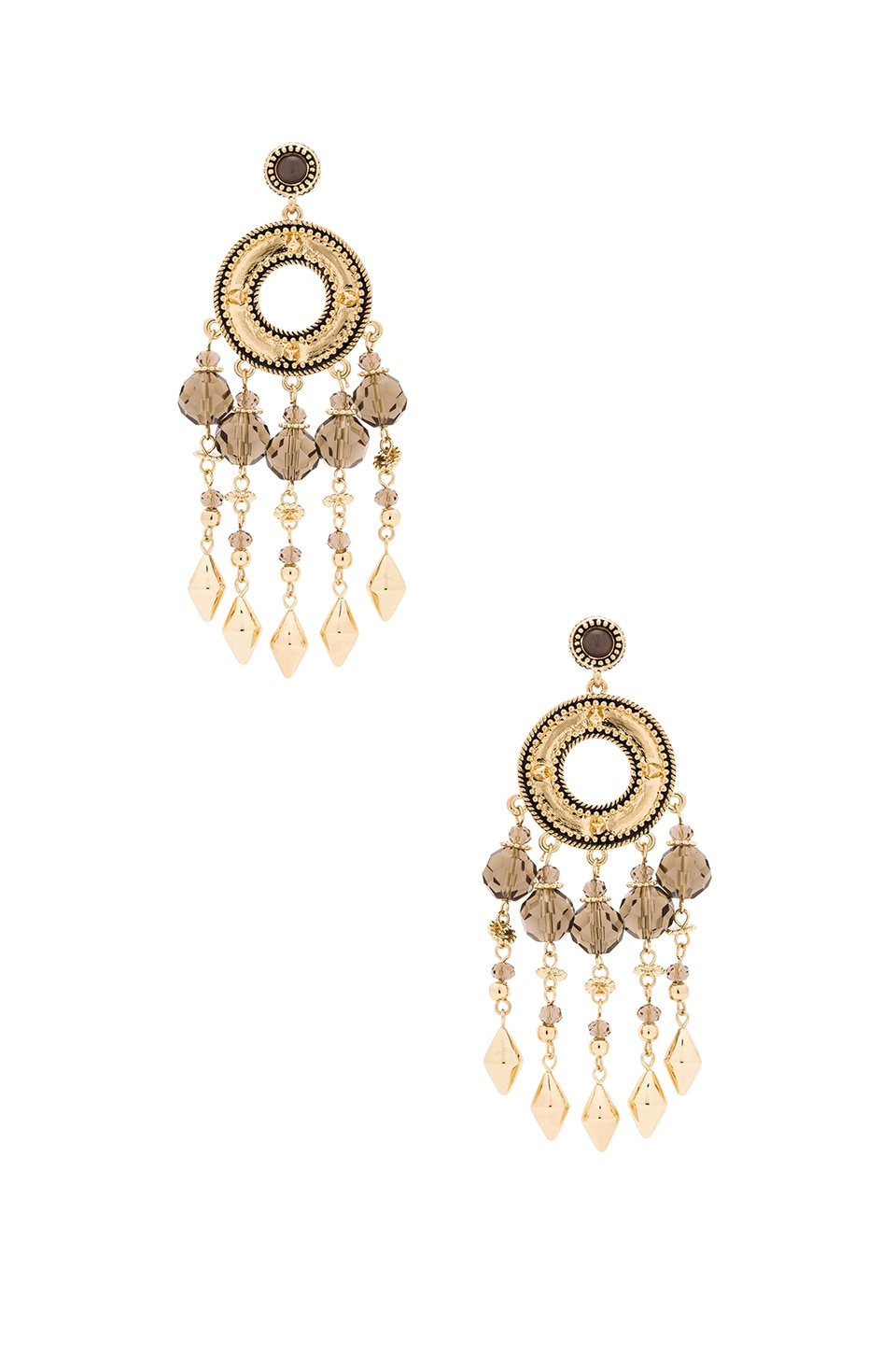 House of Harlow 1960 House of Harlow Cuzco Chandelier Earring in Gold
